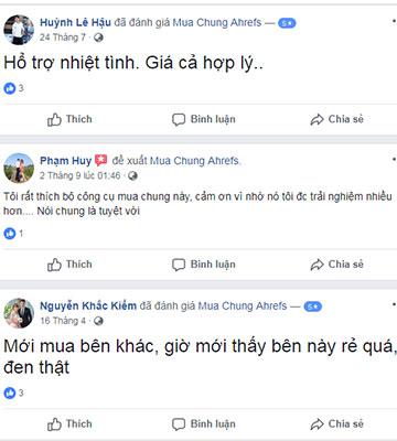 1 Group Buy Seo Tools Việt Nam | FB com/Muachungahrefs